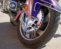 Rad des Motorrades Lizenzfreie Stockfotografie