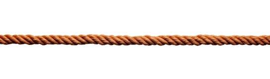 rad för rep för kabelkabelsammanlänkning Royaltyfria Bilder