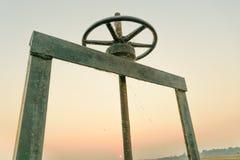 Rad für Abwasser Stockfotos