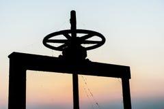 Rad für Abwasser Stockfotografie