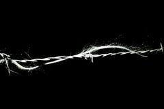 Rad och taggtråd Arkivfoton