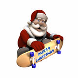 Rad Santa 1 Royalty Free Stock Images