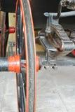 Rad und Suspendierung Stockfoto