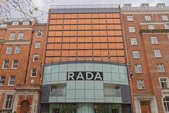 London, england: Rada academy of dramatic art. Image taken of exterior of the royal academy of dramatic art (RADA), malet st, fitzrovia, london, uk Stock Photo