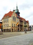 Rada miasta BÃ ¼ ckeburg Obraz Royalty Free