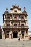 Rada Pamplona w Navarre zdjęcia stock