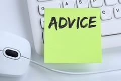 Rada poparcia pomocy pomocy rozwiązania biznesu problemowy pojęcie Obraz Stock