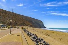 Rada Tilly Beach Chubut Argentina Foto de Stock