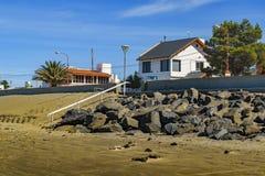 Rada Tilly Beach Chubut Argentina Imagenes de archivo