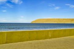 Rada Tilly Beach Chubut Argentina Imagens de Stock