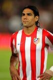 Radamel Falcao of Atletico Madrid Stock Photography