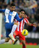 Radamel Falcao of Atletico Madrid Stock Photos