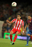 Radamel Falcao d'Atletico Madrid Photographie stock
