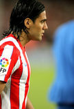 Radamel Falcao d'Atletico Madrid Photos libres de droits