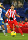 Radamel Falcao d'Atletico Madrid Images stock