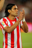 Radamel Falcao de Atletico Madrid Imagem de Stock
