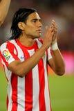 Radamel Falcao de Atletico Madrid Imagen de archivo