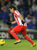 Radamel Falcao de Atletico Madrid Fotografia de Stock