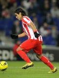 Radamel Falcao de Atletico Madrid Fotografía de archivo