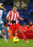 Radamel Falcao de Atletico Madrid Imagens de Stock