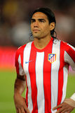 Radamel Falcao von Atletico Madrid Stockfotografie