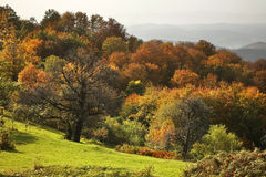 Radan mountain near Prolom Banja.  Serbia Royalty Free Stock Photography