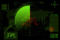 Radar illustration de vecteur