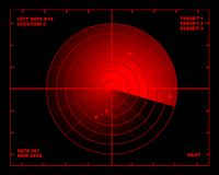 Radar. Diagram. visit my gallery for more variations Royalty Free Stock Images