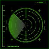 Radar stock illustrationer