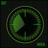 Radar royaltyfri illustrationer