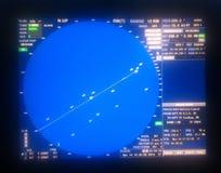 radar imagem de stock