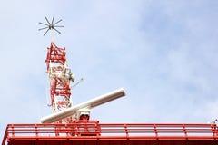 Radar a Almeria lungo il litorale spagnolo Fotografie Stock