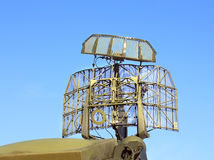 Radar antenna Royalty Free Stock Images