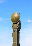 Radar antenna. Antenna of the radar installation for target and missile tracking Royalty Free Stock Image