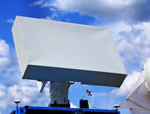 Radar antenna Stock Image