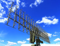 Radar antennas Royalty Free Stock Photography