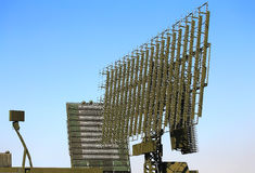 Radar antennas Stock Photography