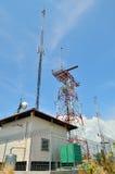Radar auf KOHlan-Insel Stockfotografie