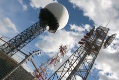 Radar base Stock Photo