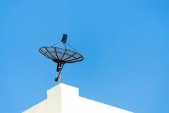 Radar in blue sky Royalty Free Stock Photo