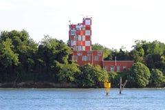 Radar d'aéroport de piscine découverte de Venise Photo stock