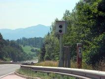 Radar da estrada Imagem de Stock