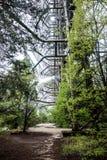 Radar de Duga dans Pripyat, Chernobyl Photos stock