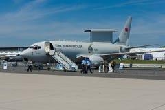 Radar de surveillance militaire æroporté et contrôle Boeing B737 AEWC, l'Armée de l'Air turque Photos stock