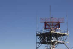 Radar del controlador aéreo Imagen de archivo