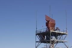 Radar del controllo del traffico aereo Fotografia Stock Libera da Diritti