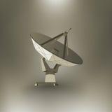 Radar del vector Foto de archivo libre de regalías