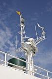 Radar della nave Fotografia Stock Libera da Diritti