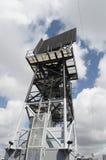 Radar della nave Fotografia Stock