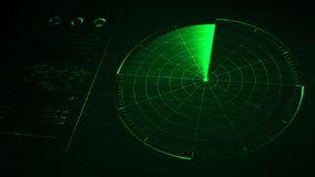 Radar. Digital blue realistic radar with targets on monitor in searching. Air search . Military search system . Navigation interface wallpaper . Navy sonar